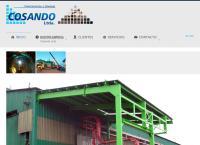 Sitio web de Cosando Construccion y Montaje Ltda