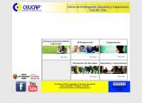 Sitio web de CEUCAP