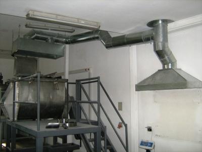 Aerostar extractores de aire ventilacion industrial - Campanas industriales de cocina ...