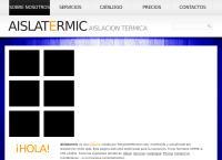 Sitio web de AISLATERMIC SOLUCIONES INDUSTRIALES LTDA.