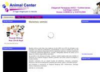 Sitio web de Centro Veterinario Pet Shop Animal Center