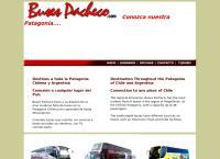 Sitio web de Buses Pacheco