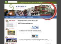 Sitio web de Cades Chile