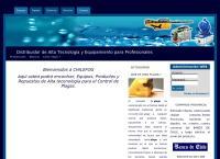 Sitio web de CHILEFOG S.A.