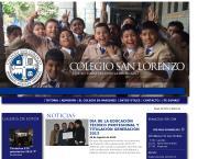 Sitio web de Colegio San Lorenzo