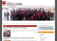 Sitio web de COLEGIO SANTA MARÍA DE LA FLORIDA