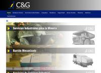 Sitio web de C&G SERVICIOS INDUSTRIALES LTDA.