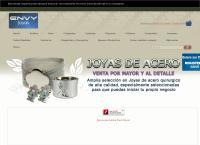 Sitio web de ENVY JOYAS - JOYAS DE ACERO QUIRURGICO