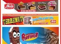 Sitio web de Alimentos Fruna Ltda