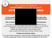 Sitio web de Ganasalud