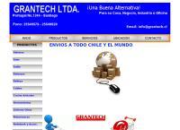 Sitio web de GRANTECH A