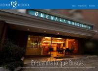Sitio web de propiedades de guevara y necochea ltda