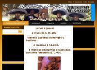 Sitio web de Mariachis de Chile