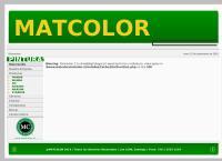 Sitio web de Mat Color
