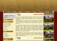 Sitio web de Audio Profesional Mesko