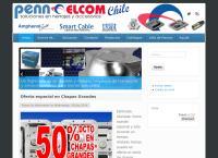 Sitio web de Penn-Elcom Chile