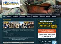 Sitio web de PREMILITAR ORIÓN - UN PREMILITAR DE VERDAD.