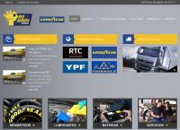 Sitio web de Red Barrera Serviteca Goodyear