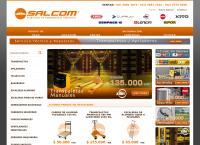 Sitio web de SALCOM - SOLUCIONES EN EQUIPAMIENTO INDUSTRIAL