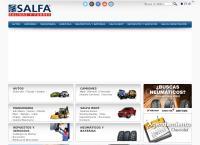 Sitio web de Salfa S.a.