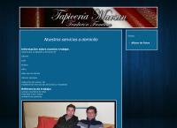 Sitio web de Tapiceria a Domicilio Marsan