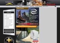 Sitio web de Treck S a