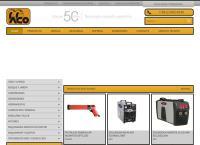 Sitio web de alvaro casanova maquinarias ltda