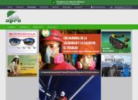 Sitio web de Apro Ltda