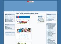 Sitio web de Colegio Arica College