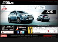 Sitio web de Autocentro Nicolas