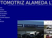 Sitio web de Automotriz Alameda