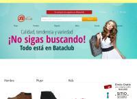 Sitio web de BATA  - City Store Sucursal Curicó 1
