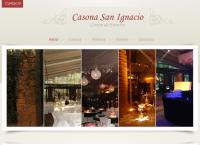 Sitio web de Casona San Ignacio