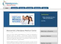 Sitio web de Centro Salud Integral Novopeso Sucursal Viña del Mar