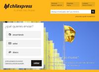 Sitio web de Chilexpress - Sucursal ARICA
