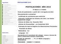 Sitio web de Colegio Marquel