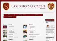 Sitio web de Colegio Saucache