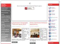 Sitio web de Cooprinsem - Sucursal Ancud