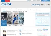 Sitio web de CORFO - Sucursal Punta Arenas