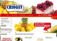 Sitio web de criogen alimentos limitada