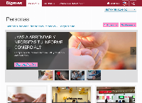 Sitio web de EQUIFAX - Sucursal Santiago