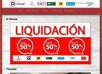 Sitio web de FORUS - DHOUSE Sucursal Concepción