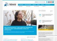 Sitio web de Defensoría Penal Pública - Sucursal San Bernardo