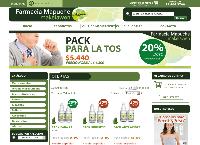 Sitio web de Farmacias Mapuche