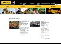 Sitio web de Finning - Sucursal Calama