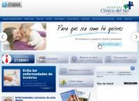 Sitio web de Clinica Hospital Clinico del Sur