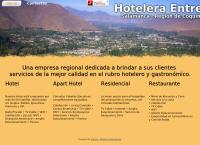 Sitio web de Hotel Entre Rios