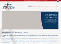 Sitio web de Centro de Eventos Maison De France