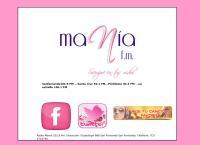 Sitio web de Radio Mania 101.9 fm