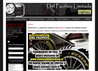 Sitio web de NEUMÁTICOS Y LLANTAS DEL PACÍFICO LIMITADA SUCURSAL SAN DIEGO
